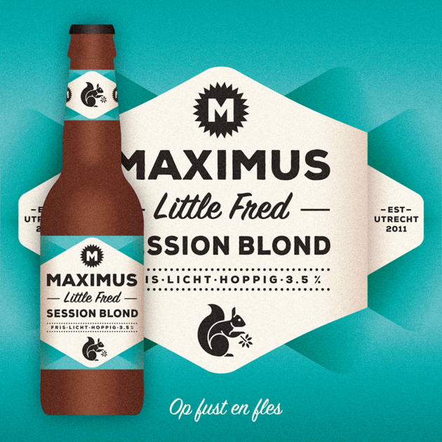 Maximus Little Fred Session Blond